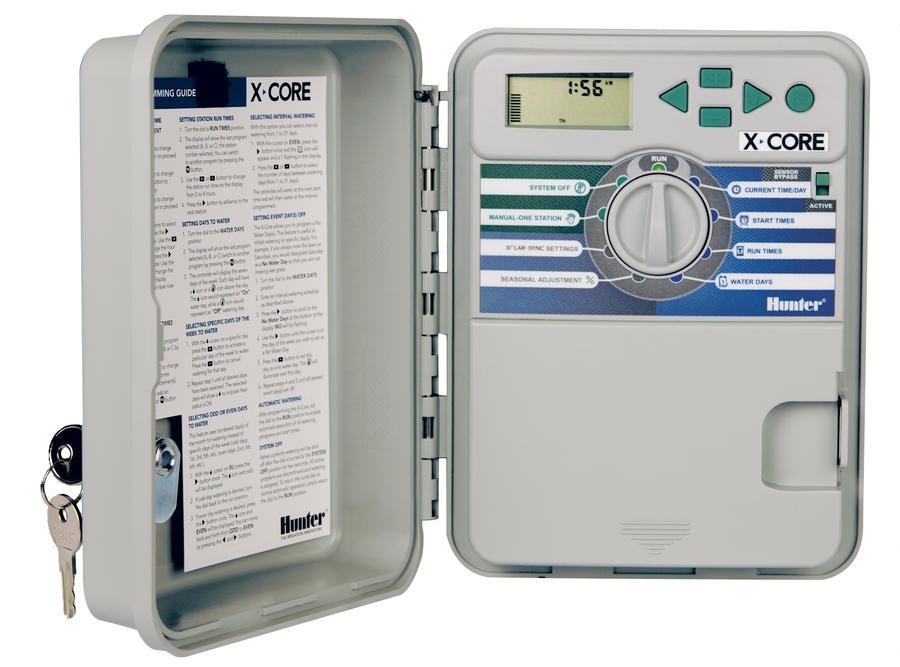 X Core 401 E пульт управления поливом для 4 зон наружный