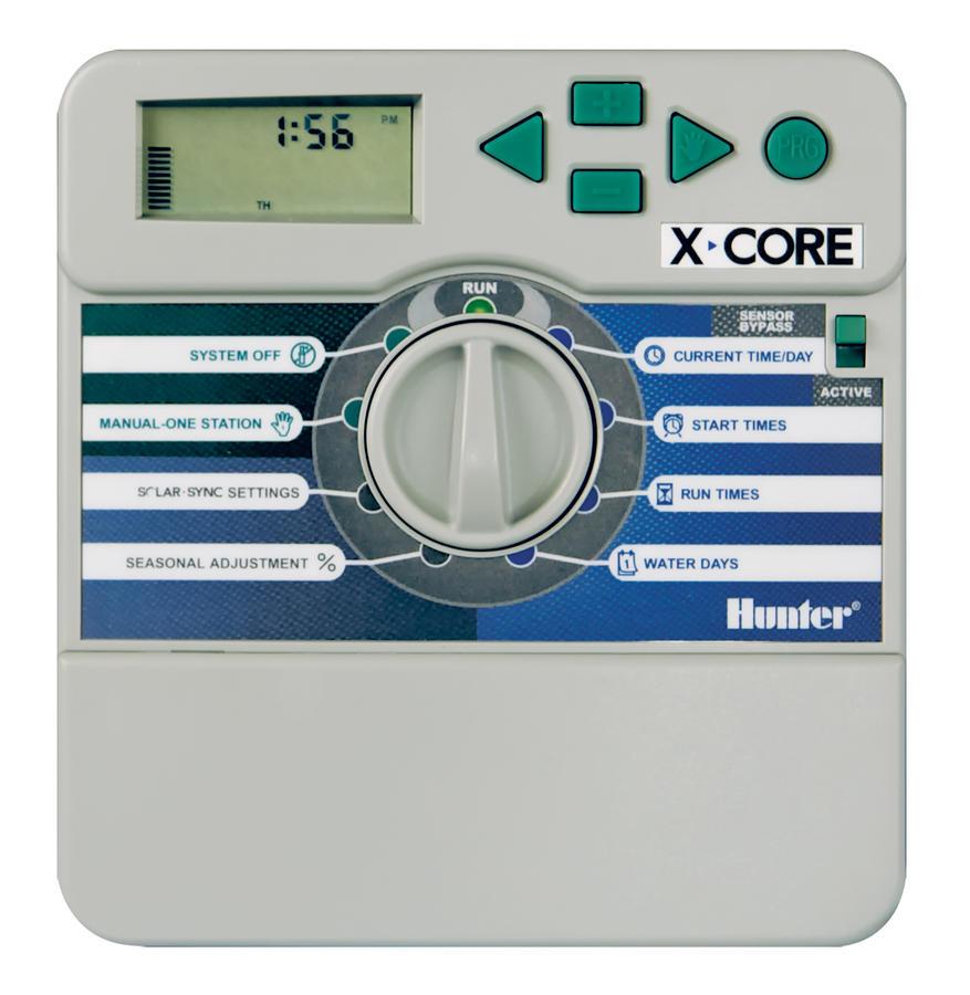 X Core 801 i E пульт управления поливом для 8 зон внутренний