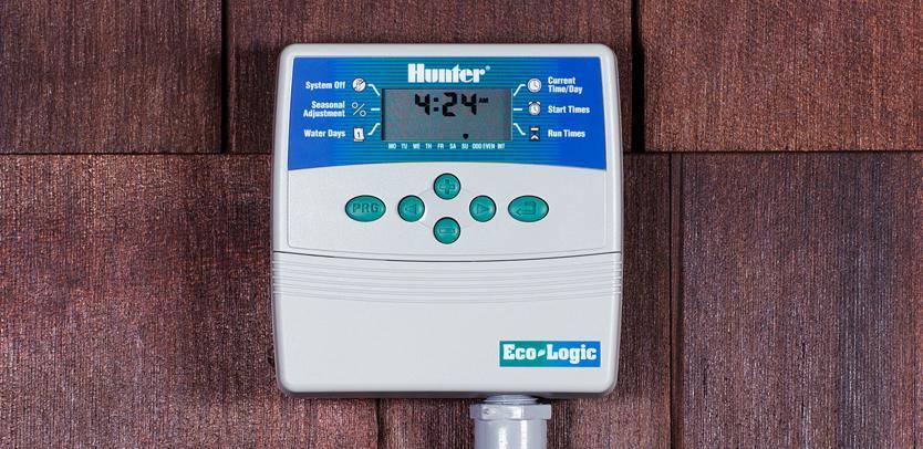 Eco Logic обеспечивает простое и эффективное управление системой полива небольших садов и участков.