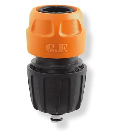 Коннектор автоматический 1/2″ — 5/8″ — 3/4″ AQUA STOP G. F.